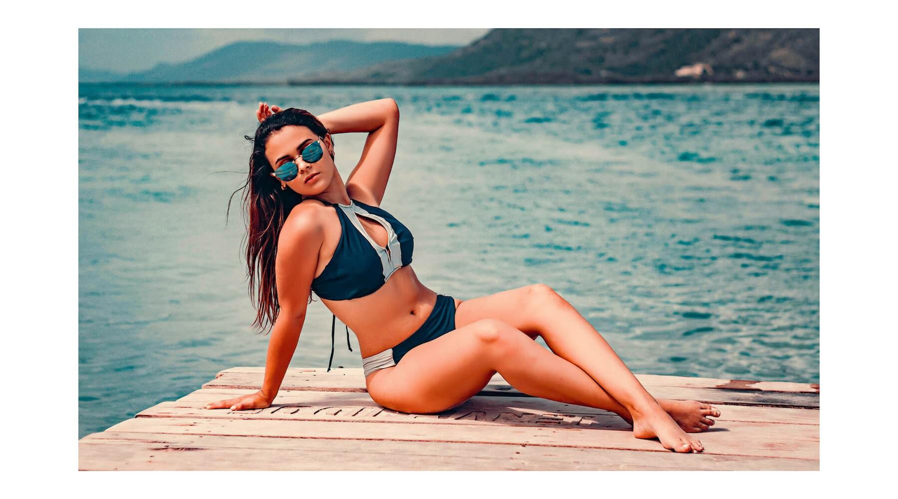 Canaima-bikini-bleu-argenté